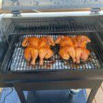 Smoked chicken! #zgrills